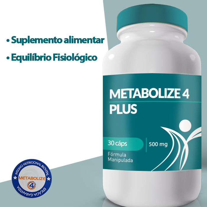 METABOLIZE 4 PLUS 500mg - 30caps